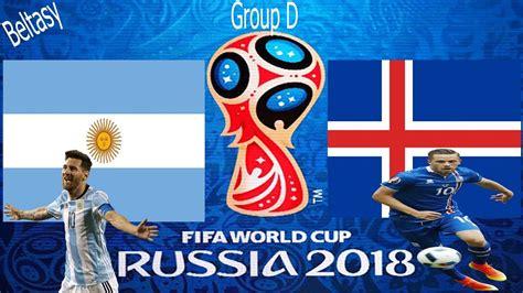 argentina vs iceland fifa 18 argentina vs iceland gameplay fifa world cup