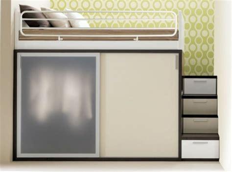 Loft Bed Storage Multifunktionales Schlafzimmer Gestalten F 252 R Kleine