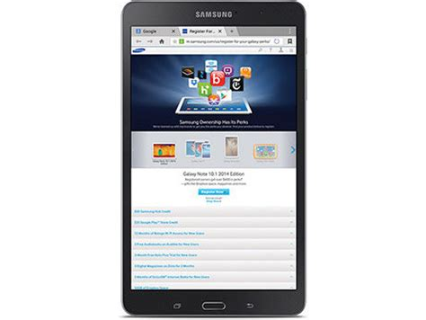 Tablet Samsung Pro 8 4 samsung galaxy tab pro 8 4 inch tablet white ca computers tablets