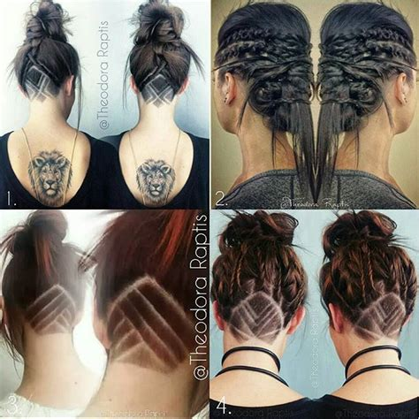 triangle with slight graduation with shaved head 17 best ideas about viking haircut on pinterest ragnar