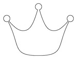 Printable Crown Template by Princess Crown Pattern Use The Printable Outline For