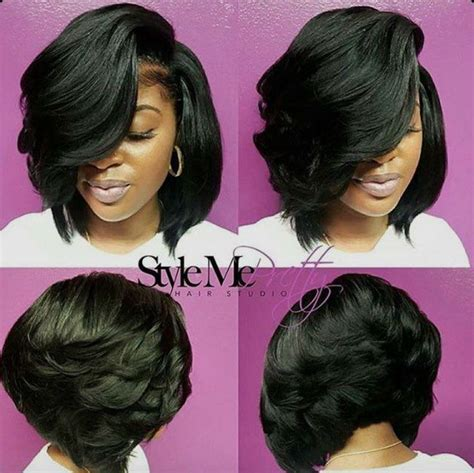 sew in layered bob hairstyles 2428 best celebrity sew in hairstyles black women images