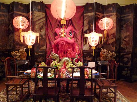 Chinese New Year Decoration Ideas For Home | chinese new year interior decor picture deco 2017 with