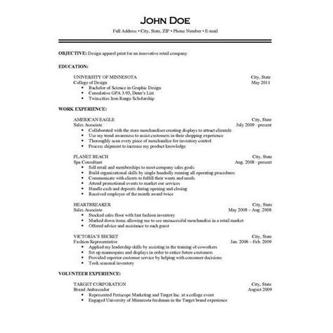 Resume Responsibilities Tips For Describing Your Duties The Resume Performance Evaluation
