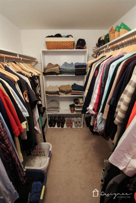 8 Tips For Reorganizing Your Closet by Diy Closet System Reveal I M In Designertrapped