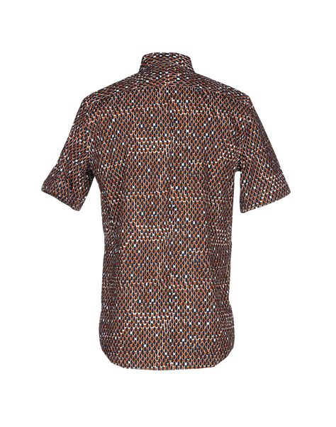 Blouse Bunga Jumbo Linen Ld 132 lyst marni shirt in black for