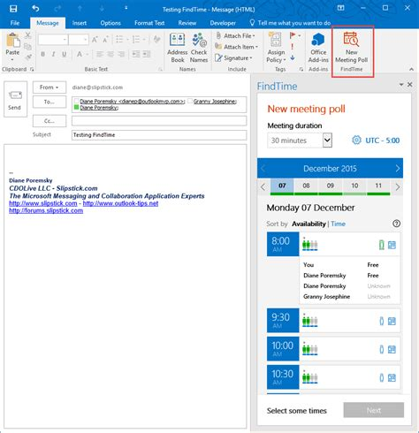 Office 365 Outlook Voting Diane S Outlook