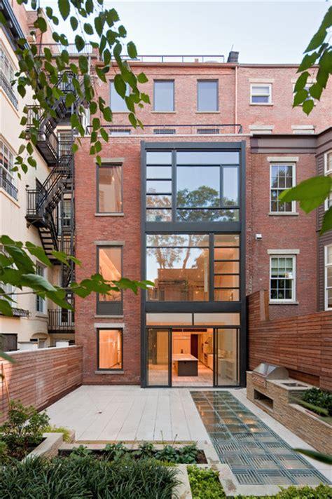 york home design ltd greenwich village townhouse contemporary exterior