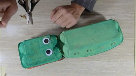 Krokodil Basteln Eierkarton by Basteln Und Singen Das Krokodil Vom Nil