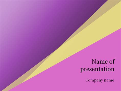 powerpoint templates free download yellow download free pink yellow powerpoint template for presentation