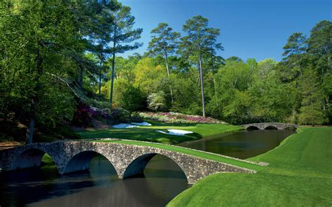 Golf Course The Augusta National Golf Course Wallpapers Hd Masters 2015