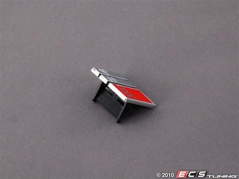 Audi S4 Emblem by Genuine Volkswagen Audi 8d0853736c2zz S4 Grille
