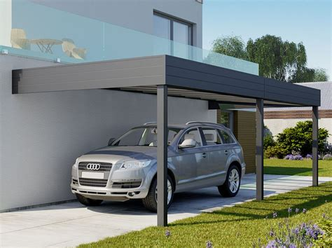 Alu Carport by Carport Aluminium Adosse Talis 6 X 3 5 M Direct Abris