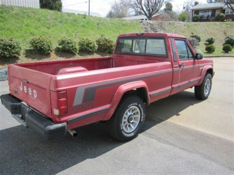 Jeep Comanche Tailgate For Sale Purchase Used 1989 Jeep Comanche Pioneer 4wd In