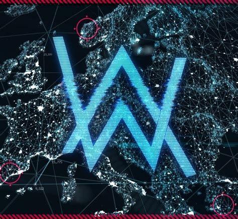 alan walker youtube logo alan walker world of walker stream logo edm identity