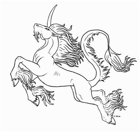 imprime le dessin 224 colorier de licorne
