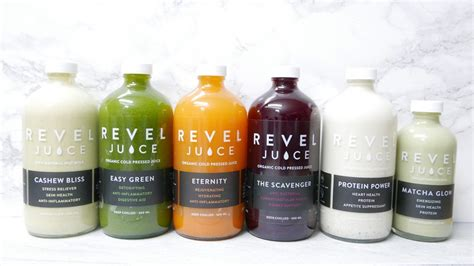 Detox Organics Canada by Revel Juice Vancouver 100 Organic Cold Press Juice