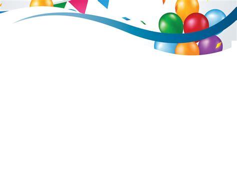 birthday powerpoint themes birthday balloons backgrounds templates pinterest