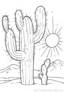 cactus coloring page colouring in pictures print and colour free cactus image