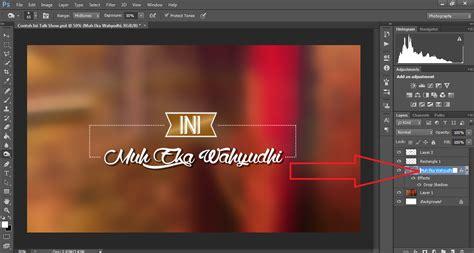 cara membuat logo ini talkshow buat logo ini talk show dengan nama sendiri