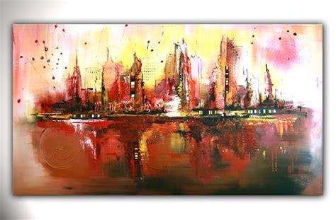 abstrakte kunst leinwand quot citylife abstrakte malerei abstrakte kunst