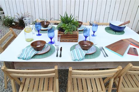 outdoor table setting 5 tips for creating a colorful outdoor table setting for a