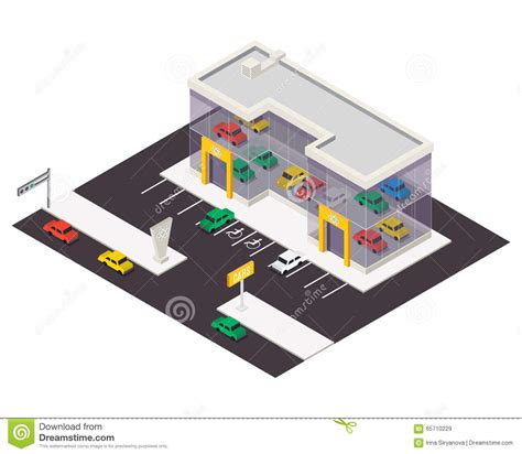 Office Floor Plan Icons vector isometric building icon stock vector image 65710229