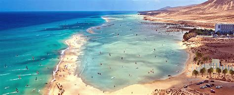 Volcanic Beach by Hit Flights From Vilnius To Fuerteventura Spain From