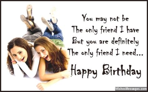 birthday wishes for best friend quotes and messages sms