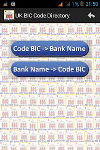 bic code bw bank uk bank list android apps on play
