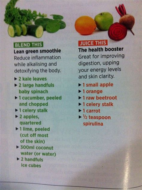 Smoothies Vs Juicing For Detox by 24 Best Healthy Smoothie Recipes Images On