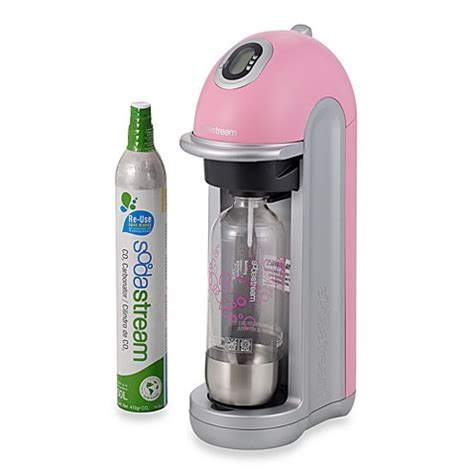 bed bath and beyond sodastream exchange sodastream fizz home soda maker pink bed bath beyond