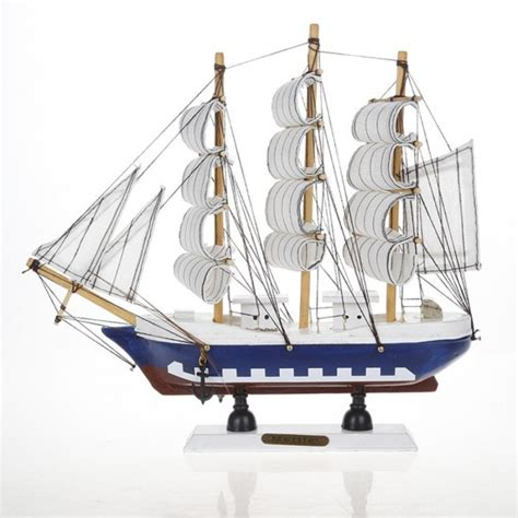 boat home decor mylifeunit vintage nautical wooden model ships 9 quot wood