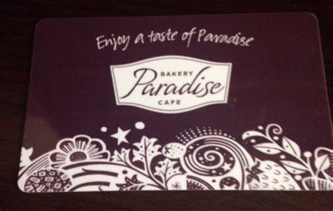Paradise Bakery Gift Card - free 10 gift card paradise bakery cafe gift cards listia com auctions for free