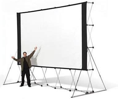 backyard drive in backyard drive in huge portable outdoor projector screen