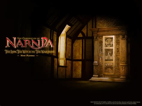 narnia armadio the the witch and the wardrobe through two blue