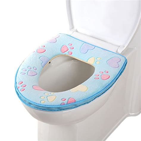 soft toilet seat cover uk chic mall toilet seat cover bathroom warmer plush soft