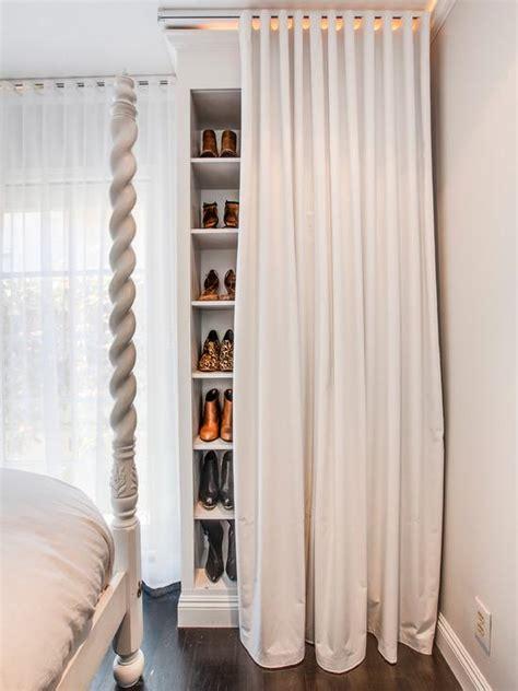 kleiderschrank vorhang 50 quartos femininos decorados as melhores fotos