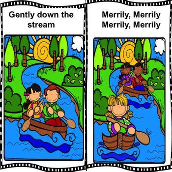 row row row your boat lyrics original row row row your boat interactive nursery rhyme circle