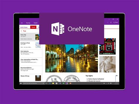 onenote and third party apps and services