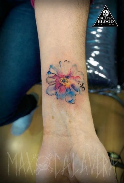 watercolor tattoo tecnica 17 best images about mis tatuajes max calavera on