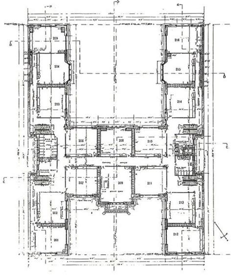 h shaped floor plan h shaped house floor plans original 2nd floor plan of