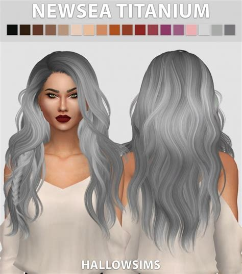 jsboutique hair 1 comes in all the default ea hair 50 best sims 4 hairstyles images on pinterest