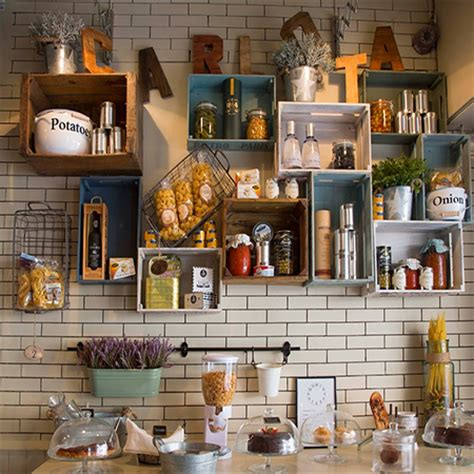 15 wooden crates in kitchen 15 wooden crates in kitchen a brilliant idea to add