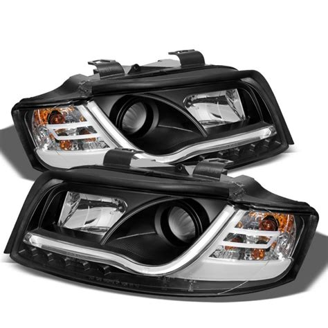 2005 audi s4 headlights spyder 2002 2005 audi a4 s4 headlights