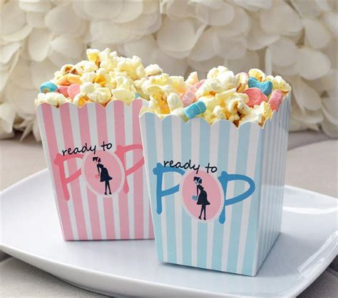 Baby Shower Popcorn Boxes by Object Moved