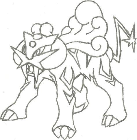 dragonair sketch by coolman666 on deviantart pokemon raikou sketch by coolman666 on deviantart