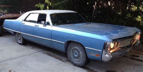 1971 Chrysler Imperial by 1971 Chrysler Imperial Lebaron Hardtop 4 Door 7 2l 440