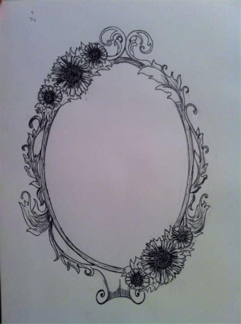 tattoo flower frame frame tattoo on tumblr