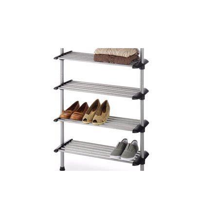 whitmor closet 6 shelf shoe rack system walmart